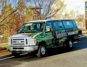 Woodlands of Knoxville passenger van