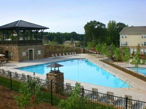 resort pool at Woodlands of Knoxville